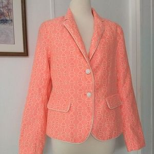 Gap The Academy Blazer neon